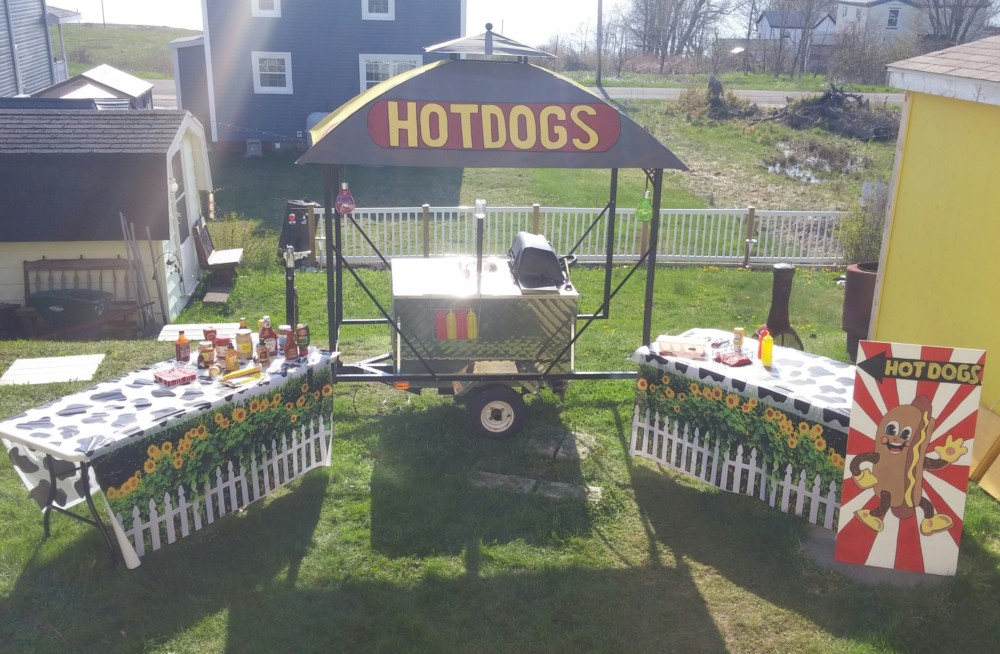 Don Wells Hot Dog Stand
